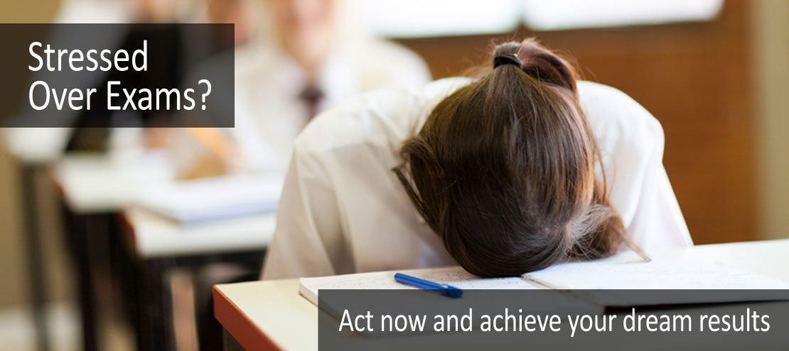 Stressed Over Exams? Act now and achieve your dream results.